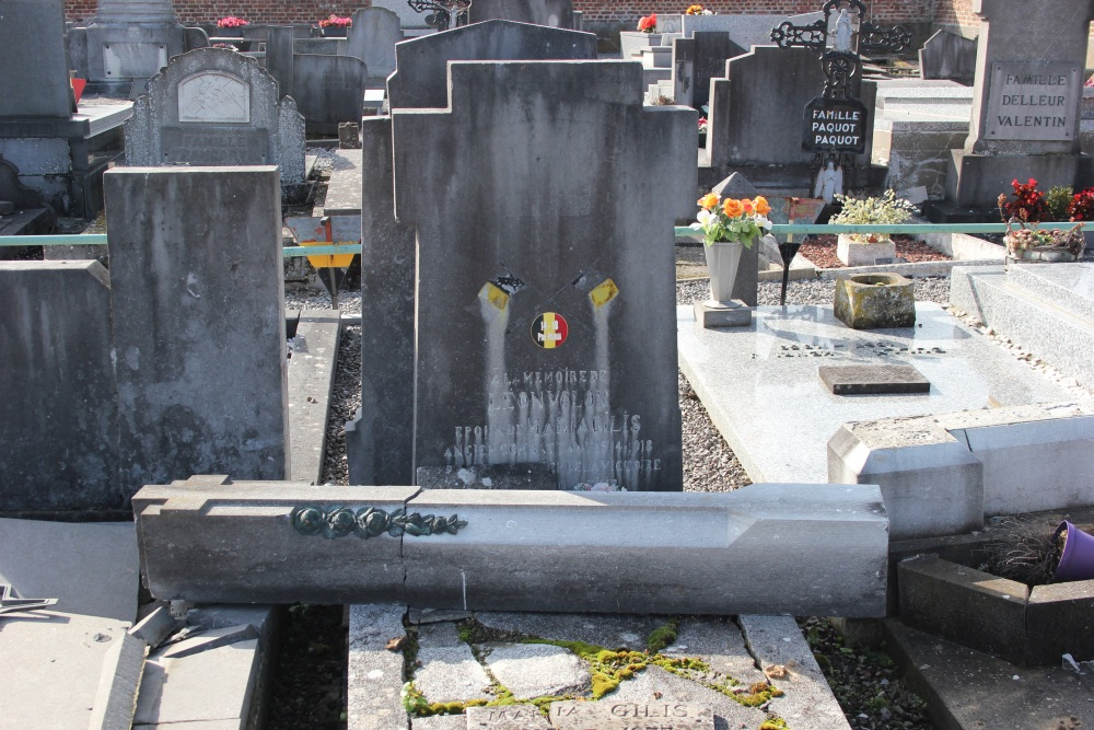 Belgian War Grave Lens-Saint-Rémy