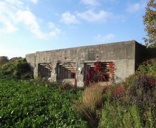 Fort Eben-Emael - Artilleriekazemat Vise 1