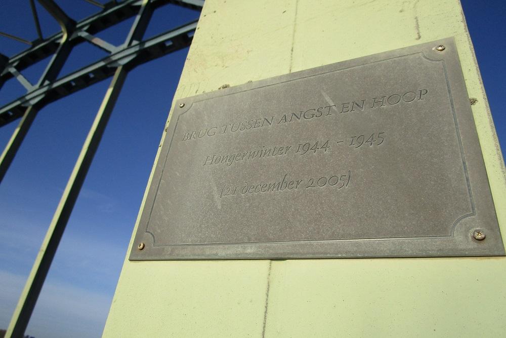 Plaquette IJsselbrug