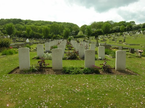 Commonwealth War Graves Newhaven Cemetery