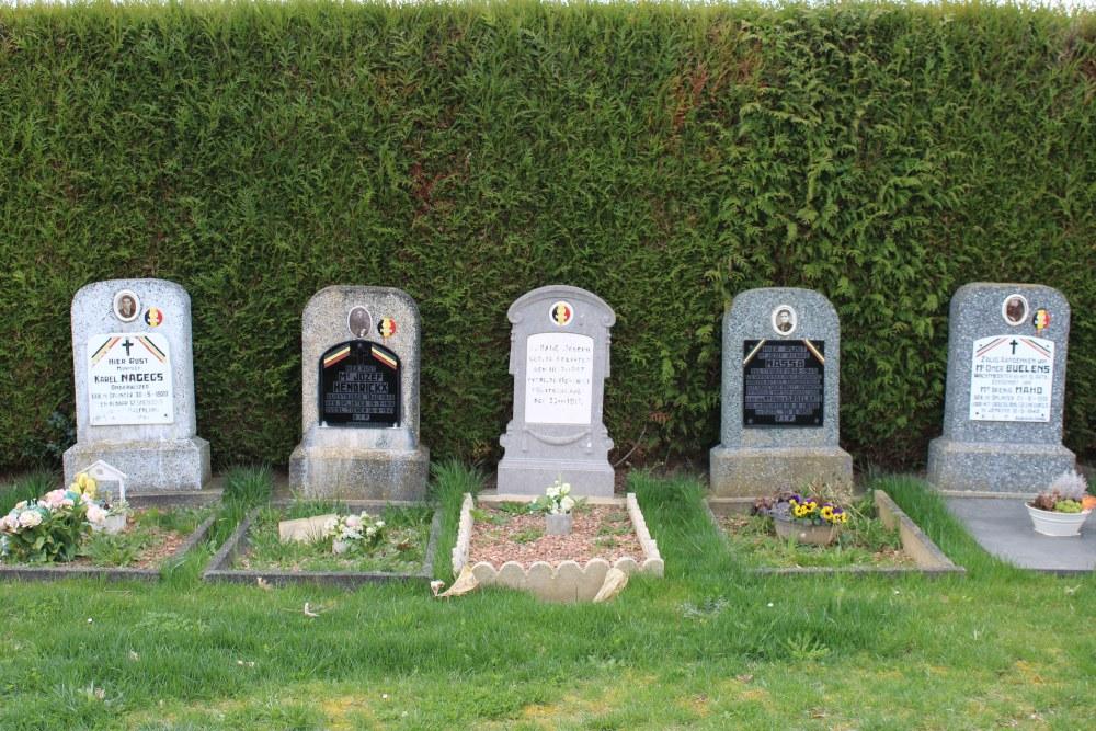 Belgische Oorlogsgraven Oplinter