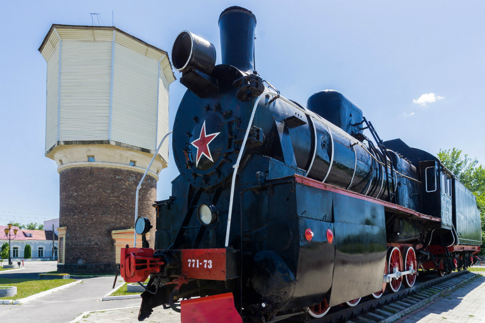 Memorial Steam Locomotive Novozybkov
