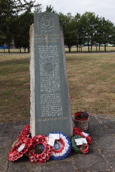 Memorial no. 115 Squadron Bomber Command RAF