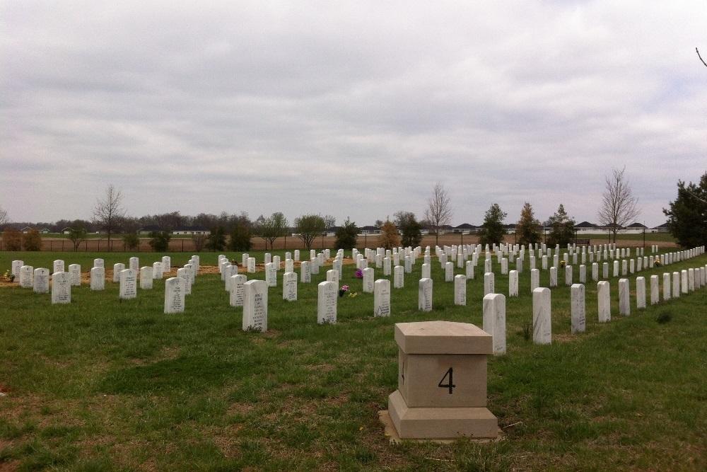 Amerikaanse Oorlogsgraven Kentucky Veterans Cemetery West
