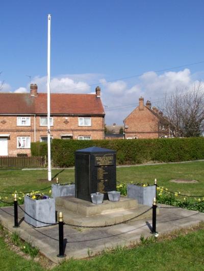 War Memorial Paull