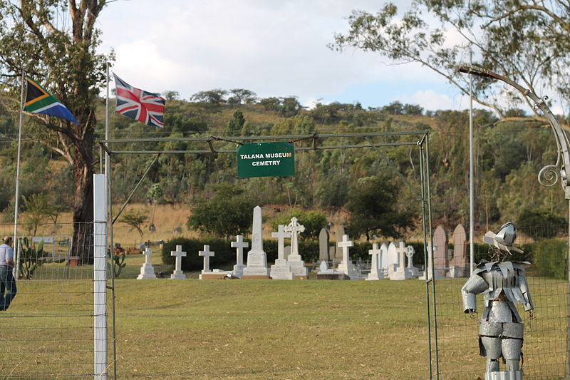 Military Cemetery Battle of Talana