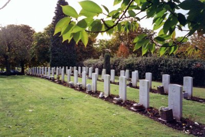 Commonwealth War Graves Kingsthorpe Cemetery