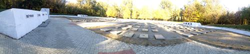 Sovjet Oorlogsbegraafplaats Dnipropetrovsk