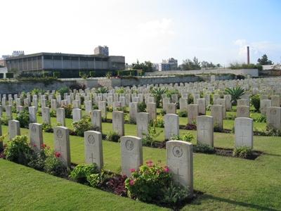 Commonwealth War Cemetery Alexandria - Hadra