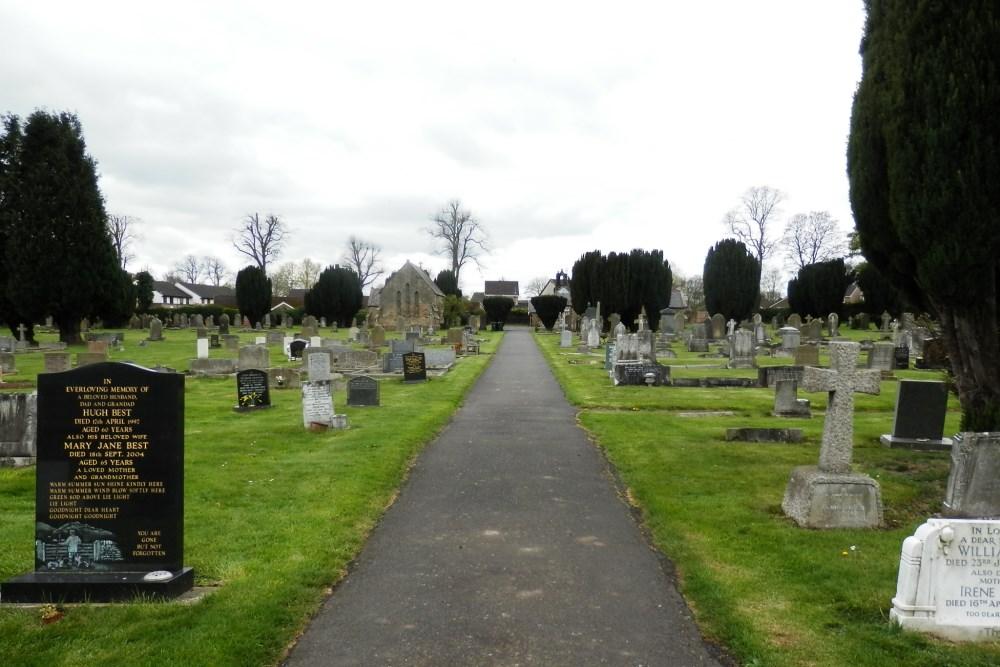 Commonwealth War Graves Ovingham Burial Ground