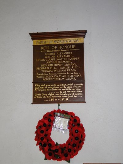 War Memorial All Saints Church