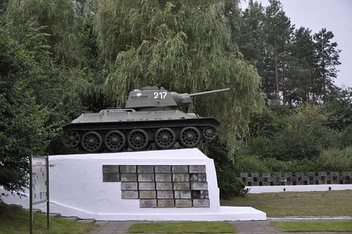 Monument Slag om Studzianki (T-34/85 Tank)