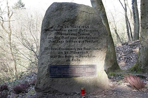 Monument Massamoord Bensheim