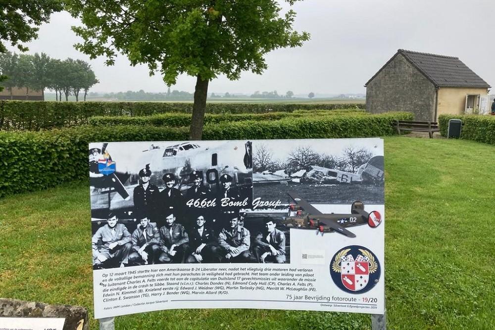75 jaar Bevrijding Fotoroute: 466th Bomb Group