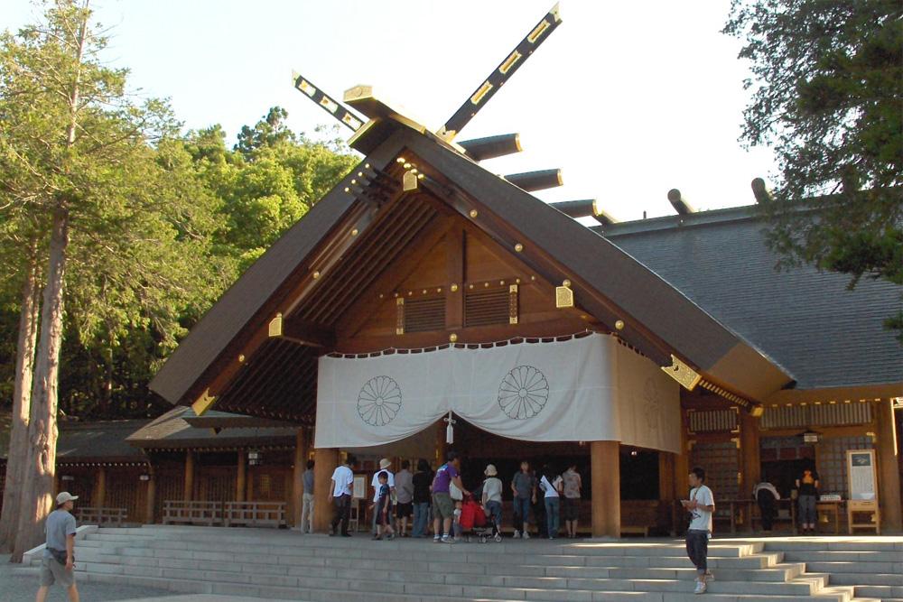Hokkaido-jingu Schrijn