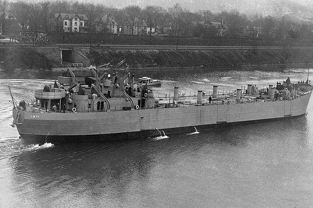 Scheepswrak USS LST-342