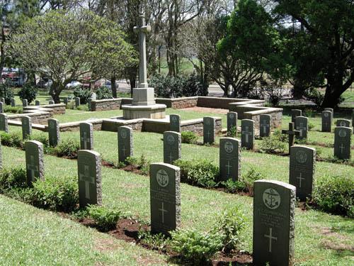 Commonwealth War Graves Fort Napier Cemetery