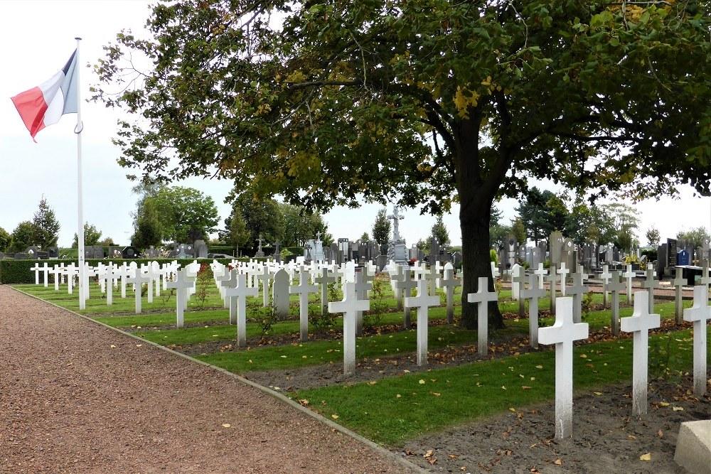 Franse Oorlogsgraven Koksijde