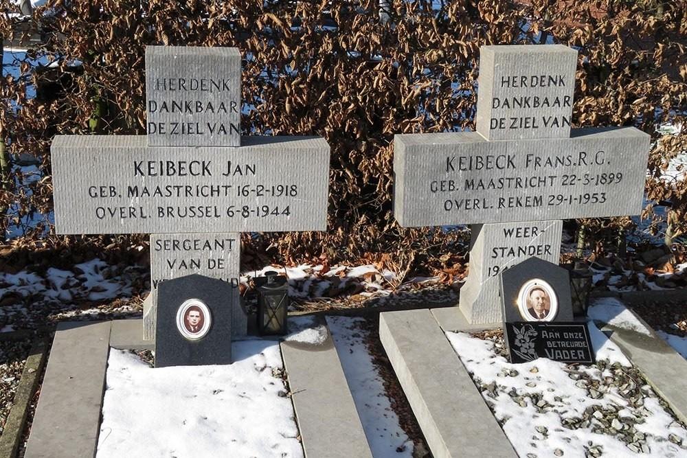Belgian War Grave Municipal Cemetery Rekem