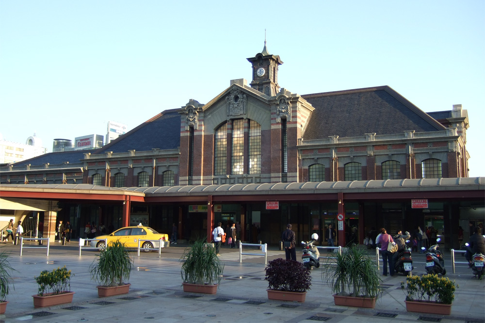 Oude Treinstation Taichung