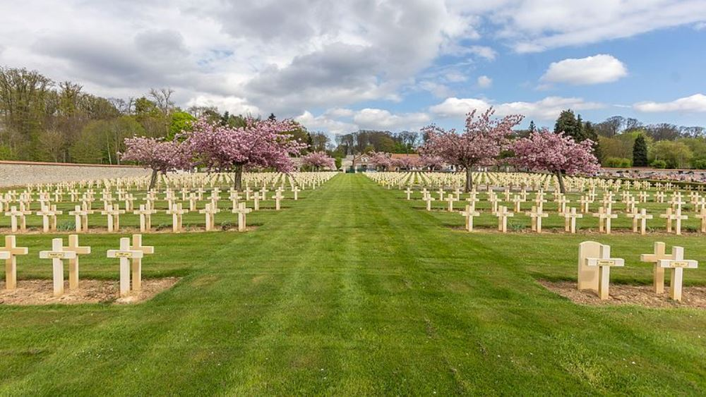French War Cemetery Villers-Cotterêts