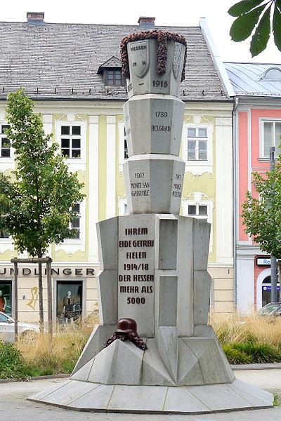 War Memorial Hessen Infanterieregiments Nr.14