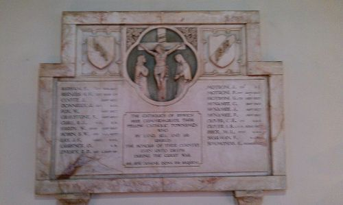 Oorlogsmonument St. Pancras Church Ipswich