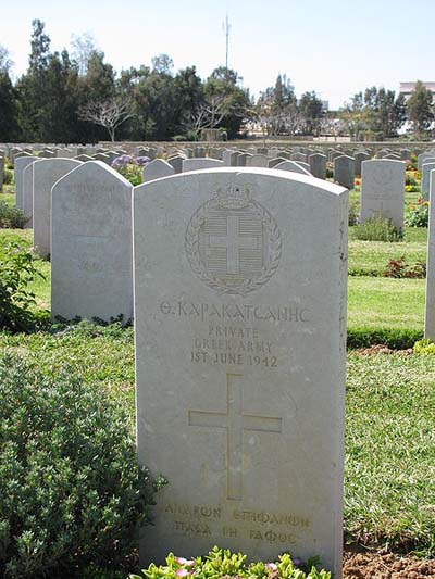 Greek War Graves Ramleh