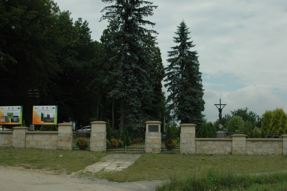 Brzozów Soviet War Cemetery