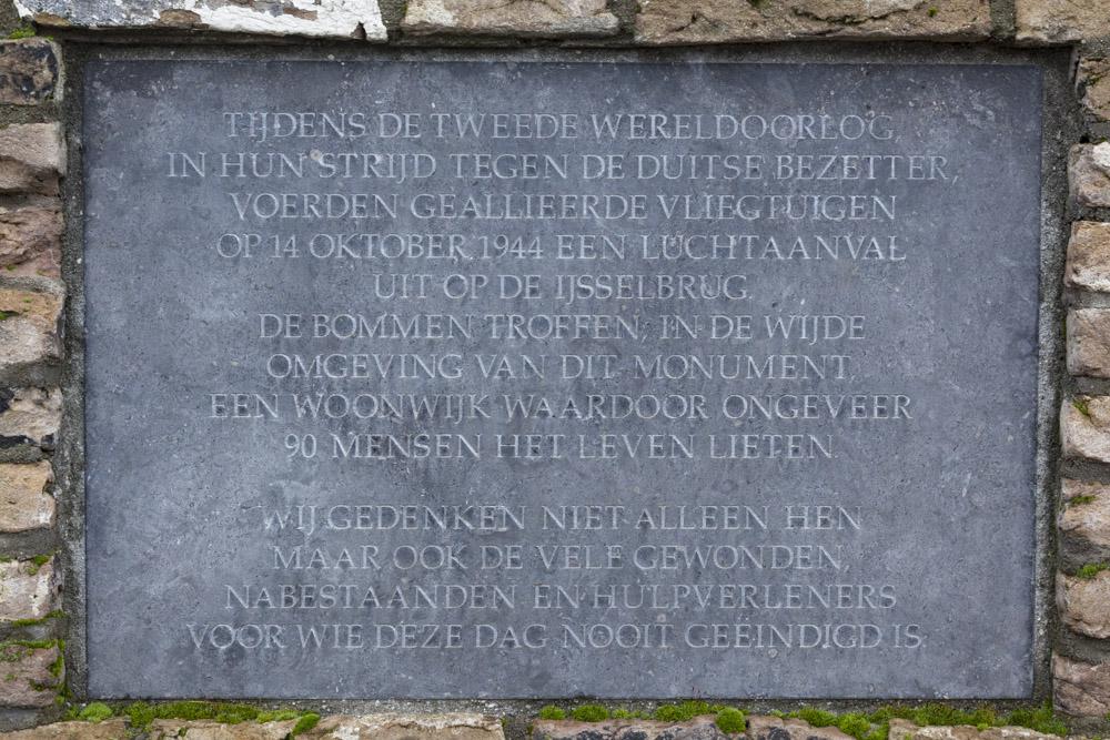 Memorial Air Raid 14-10-1944 Zutphen