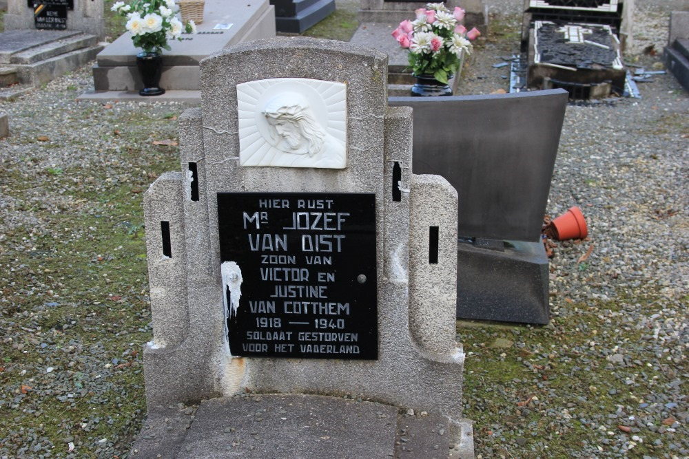 Belgian War Grave Meerbeke