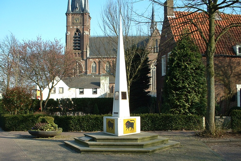 Oorlogsmonument Stiphout Stiphout Helmond Tracesofwarnl