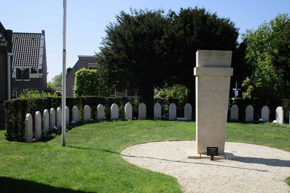 Dutch War Cemetery Valkenburg