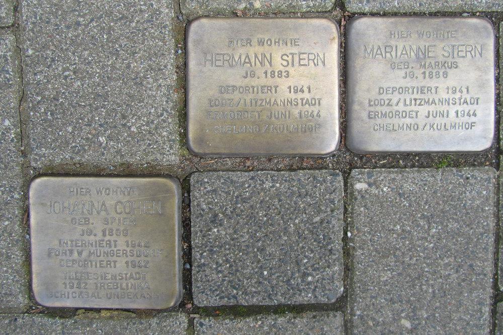 Stolpersteine Theodor-Heuss-Ring 54