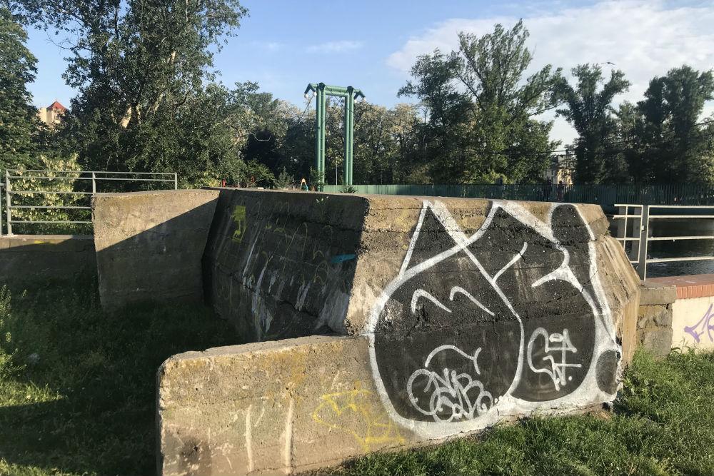 Festung Breslau - Duitse FLAK Opstelling