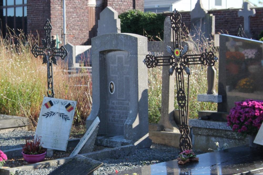 Belgian War Grave Hacquegnies