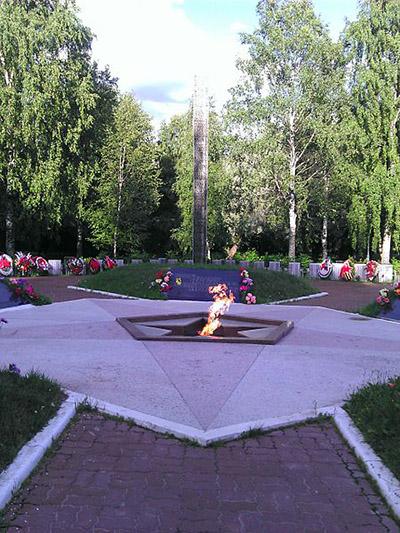 Sovjet Oorlogsbegraafplaats Kirishi