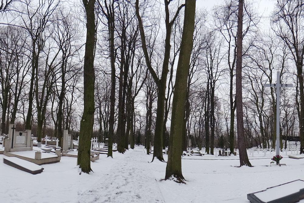 Poolse Oorlogsgraven Plock 1920-1944