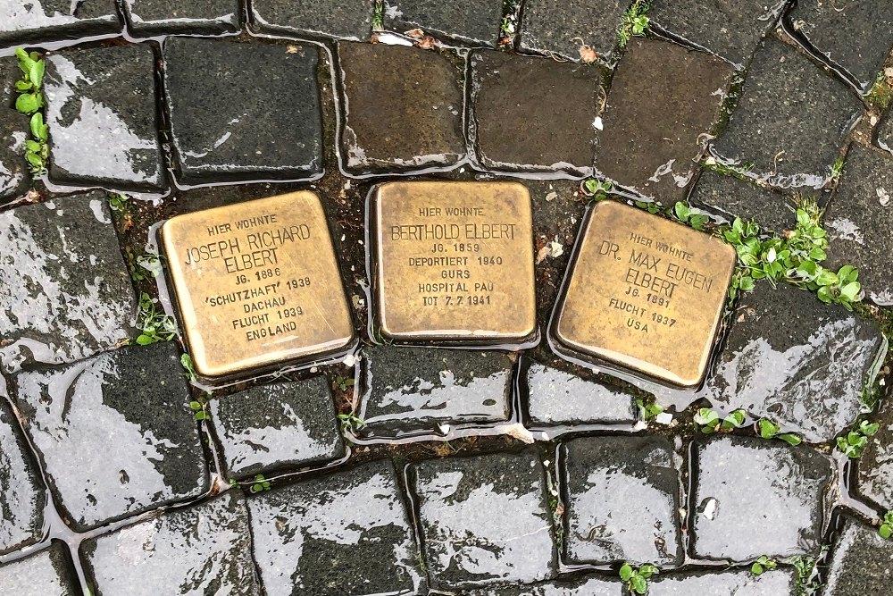 Stumbling Stones St.-Martins-Platz 4