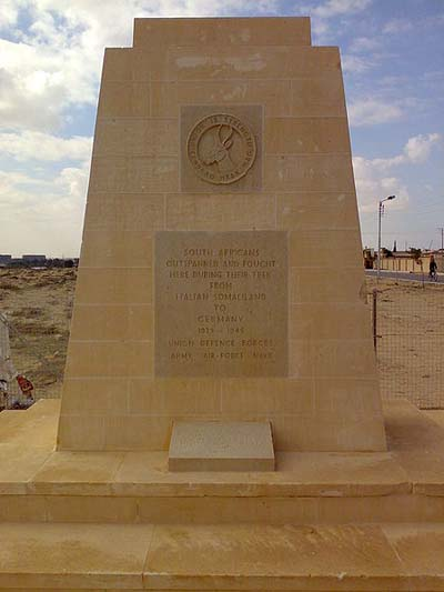 South African War Memorial El Alamein