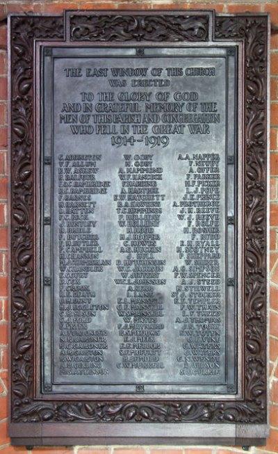War Memorial St. Andrew Church