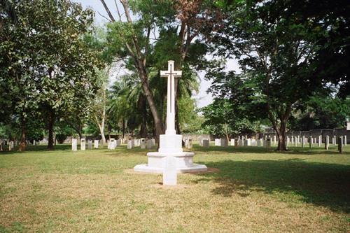Belgische Oorlogsgraven Ibadan Military Cemetery