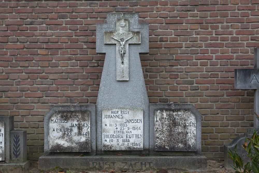 Dutch War Graves Roman Catholic Cemetery Milsbeek