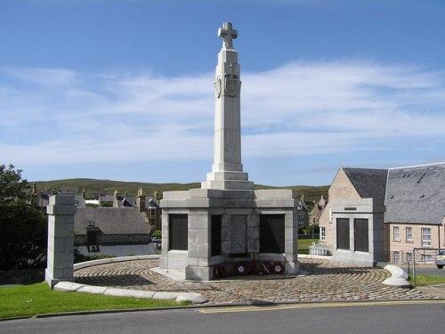 Oorlogsmonument Shetland