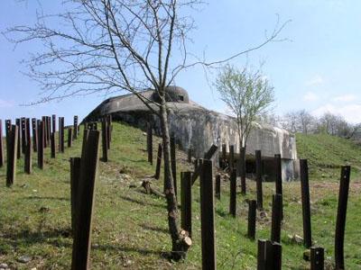 Maginot Line - Fort Four à Chaux
