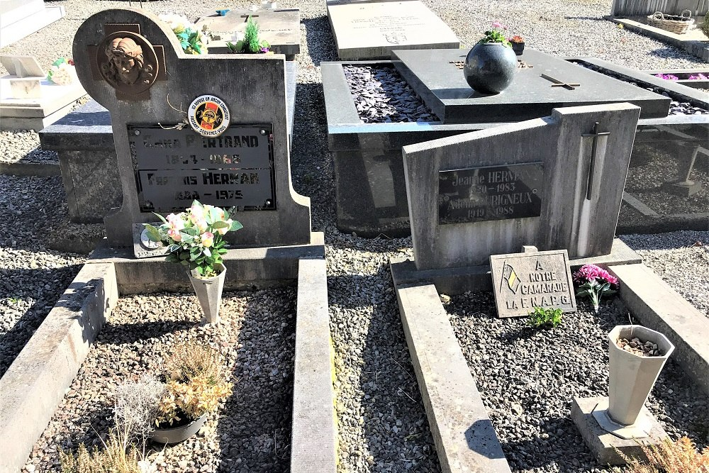 Graven Oudstrijders Chanly