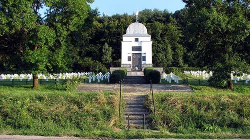 Oekraïense Oorlogsbegraafplaats Chervone