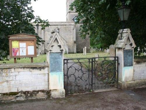 War Memorial Tinwell