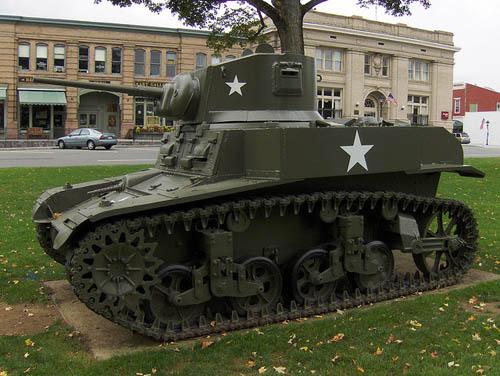 M3 Stuart Tank New Milford
