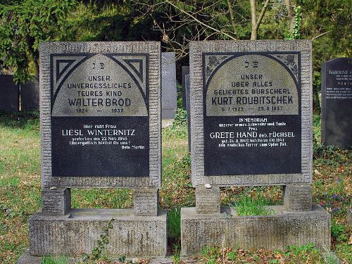 Remembrance Texts Old Jewish Cemetery Wien Simmering